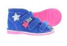 Danielki buty Daniel kapcie profilaktyczne 125/blue fluof MS T125/BLUE FLUOF