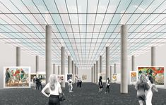 Gallery of Rem Koolhaas to Lead OMA's Transformation of the New Tretyakov Gallery in Moscow - 3