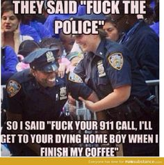 f*ck the police you say?