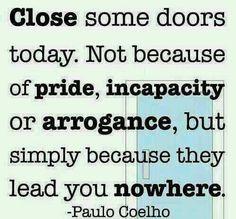 Closing doors.