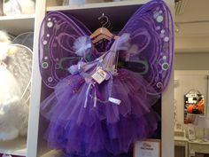 Do you want to dress your Angel up like a Fairy this Halloween? I discovered this adorable costume at Pottery Barn Kids.  www.violetwisdom.com
