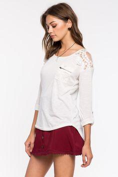 Кружевная блуза Размеры: S, L Цвет: кремовый Цена: 1149 руб.     #одежда #женщинам #блузы #коопт