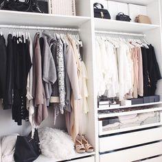 "Gefällt 1,264 Mal, 39 Kommentare - CARINA  (@carinasvl) auf Instagram: ""closet #love """