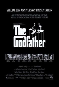 The Godfather - typographic movie posters photo
