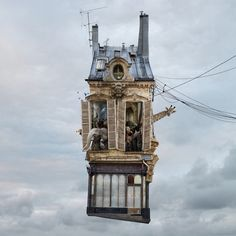 Laurent Chehere | Flying Houses