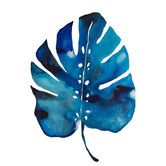 """Wildon Home ® """"Split Leaf"""" by Kate Roebuck Painting Print on Canvas"""