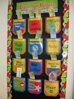 Classroom Helper Ideas