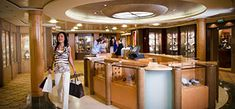 Celebrity Cruising Shops