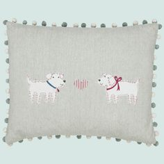 such a cute cushion by Susie Watson www.patchworkrose.co.uk
