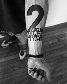 Unique tattoos for men, poetry tattoo, negative space tattoo, arm band Text Tattoo, Strichpunkt Tattoo, 2spirit Tattoo, Tattoo Motive, Arm Band Tattoo, Body Art Tattoos, New Tattoos, Tattoos For Guys, Sleeve Tattoos