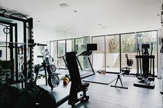 Unique Home Gym Apartment