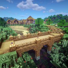 Minecraft Bridges, Minecraft House Plans, Minecraft Farm, Minecraft Structures, Minecraft Mansion, Minecraft Cottage, Minecraft Castle, Minecraft House Tutorials, Cute Minecraft Houses