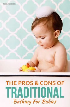 The Pros And Cons Of Traditional Bathing For Babies