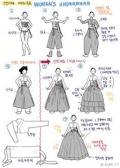 How to wear Hanbok Korean Traditional Dress, Traditional Fashion, Traditional Dresses, Korean Dress, Korean Outfits, Costume Ethnique, Modern Hanbok, Poses References, Korean Art
