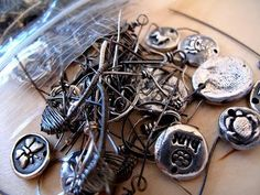 recycling silver scrap and precious metal clay for money by Beth Hemmila of Hint Jewelry