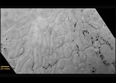 NASA's New Horizons Discovers Frozen Plains in the Heart of Pluto's Heart - SpaceRef