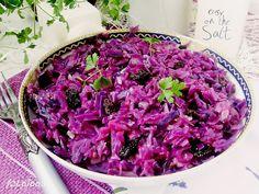 Ala piecze i gotuje: Kapusta czerwona z rodzynkami Cabbage, Vegetables, Food, Essen, Cabbages, Vegetable Recipes, Meals, Yemek, Brussels Sprouts