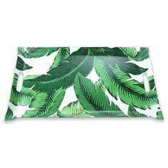 palm tree tray // $75