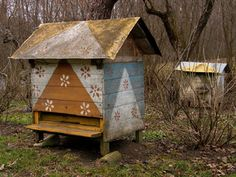 Urbonavicius beehives - Lithuanian style