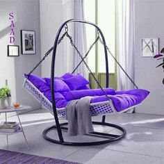 Extraordinary Backyard Hammock Design Ideas is part of Indoor chairs - The hammock brings about a sense of relaxation Lying on a hammock, can take a person away from the frustrations […] Iron Furniture, Home Furniture, Furniture Design, Furniture Online, Cheap Furniture, Living Room Decor, Bedroom Decor, Living Room Hammock, Decor Room