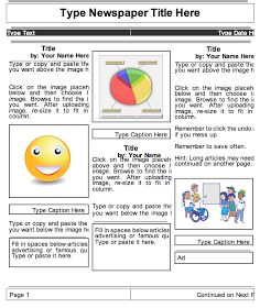 Educational Technology and Mobile Learning: 2 Beautiful Templates to Create Classroom Newspapers using Google Docs