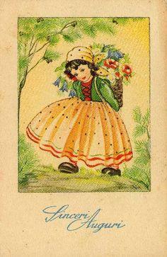 Miss Jane: Spring & Easter Vintage Cards