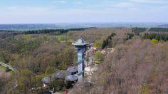 Das Dreiländereck in der nähe von Aachen. Der höchste Punkt der Niederlande ist gleichzeitig ein Ort, an dem 3 Länder an einander grenzen: Deutschland, Belgien, Niederlande