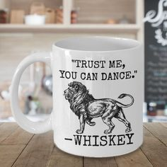 Whiskey Mug 11oz Novelty Ceramic Coffe Tea Cup Funny Gift For Whiskey Drinkers #Handmade