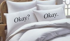 The Fault In Our Stars Inspired Okay Okay His and by RKGracePrints, $28.00