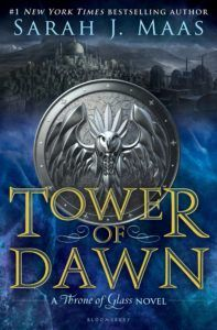 Tower of Dawn (Throne of Glass Series) by Sarah J. Maas is the 6th book in Throne of Glass series. Get to know Chaol better!