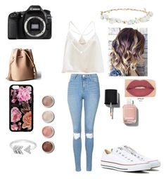 """#9"" by sophiamarie-04 ❤ liked on Polyvore featuring Eos, Topshop, Converse, EF Collection, Terre Mère, Design Lab, Chanel and Smashbox"