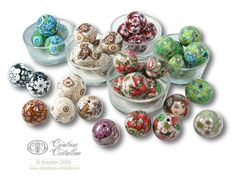 Big beads with polymer clay | Flickr - Photo Sharing!