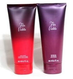 Avon Fragrance Flor Violetta - Shower Gel And Body Lotion - New