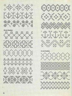 Alice Starmore Book of Fair Isle Knitting — Яндекс. Cross Stitch Borders, Cross Stitch Charts, Cross Stitch Designs, Cross Stitching, Cross Stitch Embroidery, Embroidery Patterns, Cross Stitch Patterns, Fair Isle Knitting Patterns, Knitting Charts