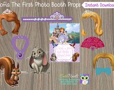 Sofia Amulet Shoes and Hair bow  Sofia the First Amulet Bow