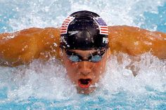 Micheal Phelps.