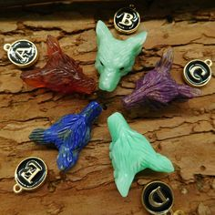 Wholesale Wolf He Pendant Design, Birthstones, Wolf, Carving, Beads, Pictures, Pendants, Animals, Etsy