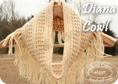 Diana Cowl Pattern by Divine Debris