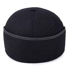 c6acbb98c0630a Men Winter Cotton Hat Keep Ear Warm Retro Vintage Vogue Outdoor Snow  Baseball Cap Mens Dad