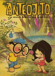 Revista Anteojito Vintage Comics, Vintage Posters, Retro Vintage, Classic Cartoon Characters, Classic Cartoons, Cool Art, Nostalgia, Illustration, Fun
