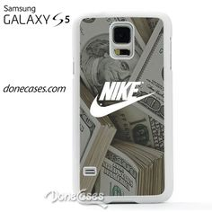 nike dollars case for Samsung Galaxy S5 Case