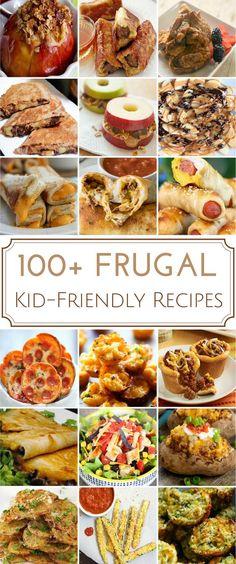 110 frugal kid friendly recipes