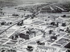 Rotterdam 1946 | City center is empty afther bombings in 1940 | Guided Tours | The Original Rotterdam Way! | https://www.RotterdamAdventures.nl