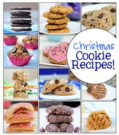 This page has tons of healthier alternatives for all your favorite Christmas cookie recipes. http://chocolatecoveredkatie.com/2012/12/13/the-giant-collection-of-healthy-cookie-recipes/
