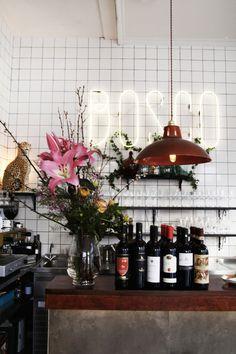 "Das Restaurant ""Bosco"" in Berlin. (Foto: Federico Testa)"