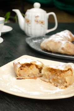 Strudel dough & Austrian Mini Apple Strudel masalaherb.com #stepbystep #recipe @Helene Dsouza