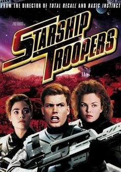 Starship Troopers (1997) In this sci-fi adventure, fire-spitting, brain-sucking bugs attack Earth and obliterate Buenos Aires. Coming to the rescue are gutsy soldiers Johnny Rico, Dizzy Flores, Carmen Ibanez and Ace Levy, who head to the Klendathu system for a showdown.