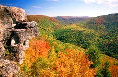 Fresh air and great view -Table Rock in Tucker County #GoToWV