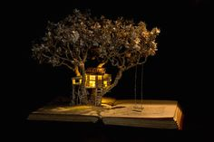CULTURE N LIFESTYLE — Fairy Tale Book Sculptures by Su Blackwell English...