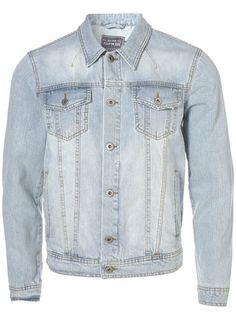 67a716e23103 Veste en jean Bleached Denim Jacket